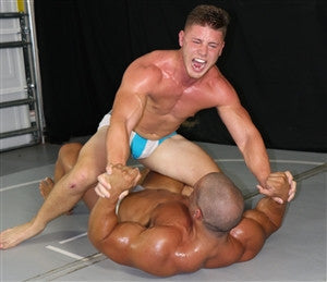 Dozer jersey wrestling grappling submission Thunders Arena
