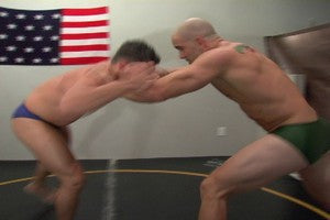 Tony Ajax grapple wrestle arms