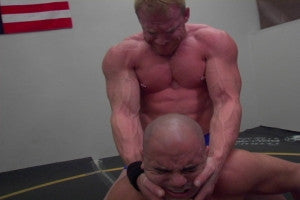 Devin camel clutch Tony arms biceps pecs