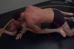Devin pins Rome on mat back choke