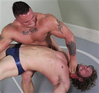 Specimen surf Backbreaker submission hold submit chest pecs