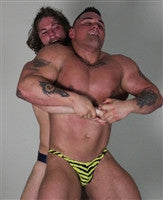 Specimen surfBearhug submission hold submit torture