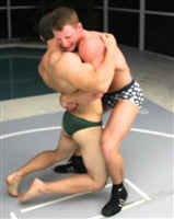 Python red Bearhug submission hold submit torture squeeze