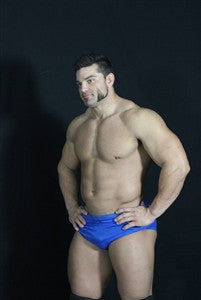 Brian Cage bodybuilder chest pecs abs arms