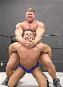 Johnny Bravo Brian Cage camel clutch submission submit pain torture thunders arena