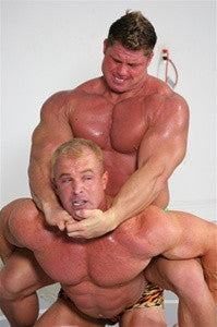 conan johnny bravo camel clutch submission hold submit