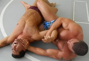 sledge eric fury body scissors armbar armlock arm submission submit submitting