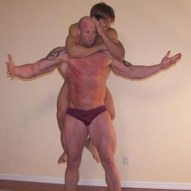 troy stevens zman big vs little lift and carry sleeper hold submission abs thighs