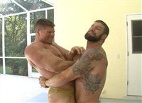 big sexy dominic lift and carry bearhug submission hold submit arms chest pecs