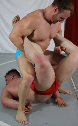 frey wildcard thunders arena mens muscle wrestling boston crab