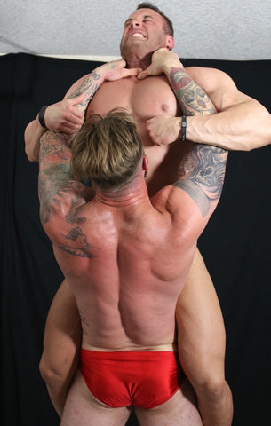 Mark Muscle Viking choke hold