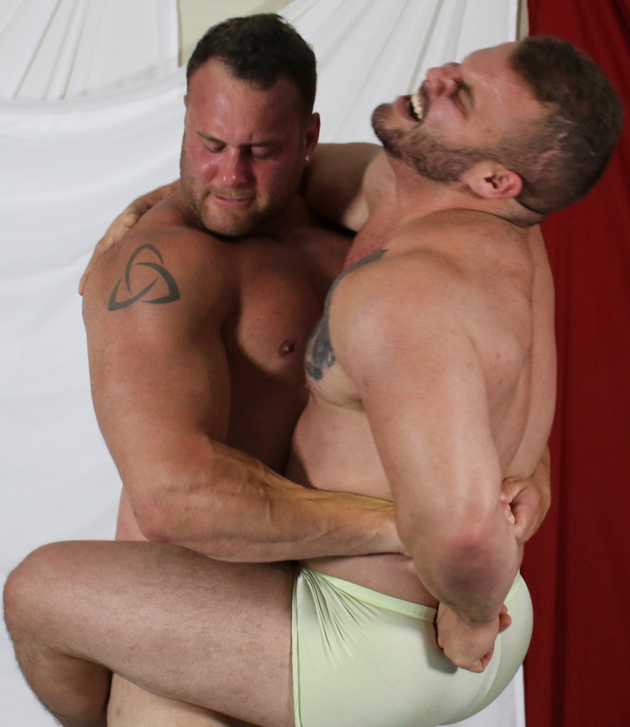 body builders dominating each other thunders wrestling