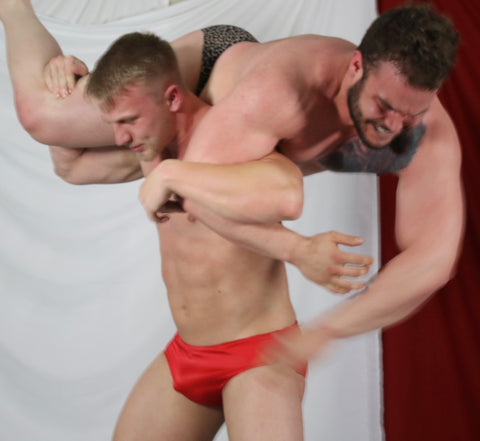 firemans carryiceman18 wildcard mens muscle wrestling thunders arena