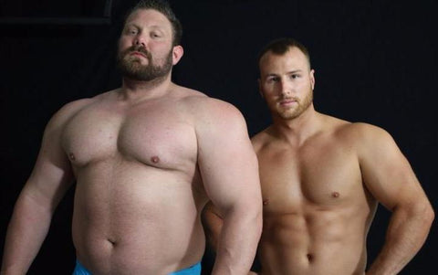 The Mountain Frey Stand Off Flexing