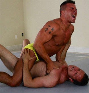 braden charron ken bodyscissors submission hold pec claw chest clawhold submission hold submit