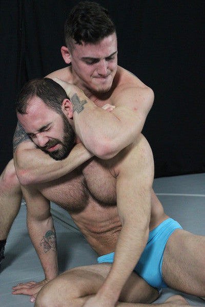 Marco wolf sleeper submission hold sleeperhold submit