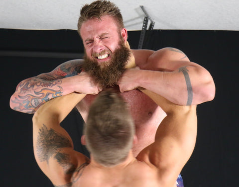 Bear Eagle choke hold biceps