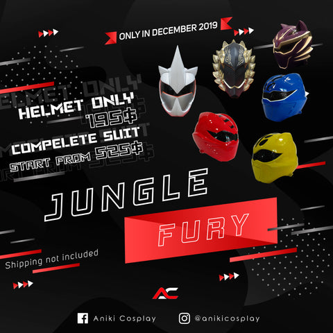 HELMETS SALE ANIKI 2020 JUNGLE FURY