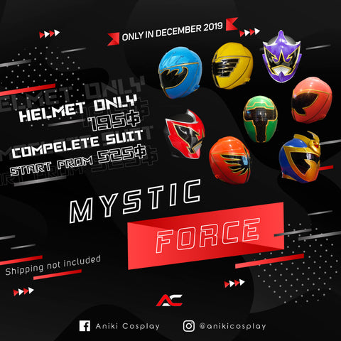 HELMETS SALE ANIKI 2020 MYSTIC FORCE