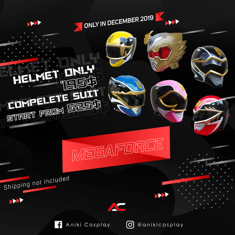 HELMETS SALE ANIKI 2020 MEGAFORCE