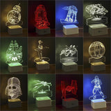 Star Wars 3D Lamps