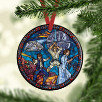 Star Wars Stained Glass Custom Ceramic Ornament