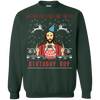birthday boy Ugly Xmas Sweater