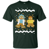 Gingerbread Rick Ugly Christmas Sweater