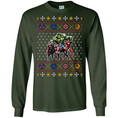 Avengers Ugly Christmas Sweater