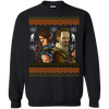 Rick and Daryl Ugly Christmas Sweater