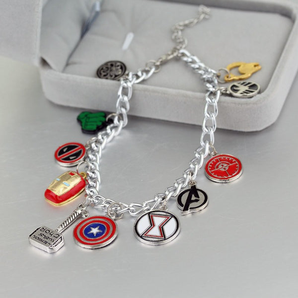 Mixed Heroes Bracelet - 60% OFF TODAY!