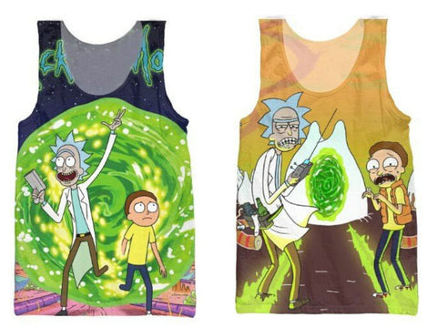 Rick & Morty 3D Tanks