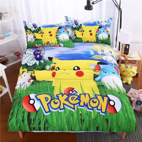 Pika Logo Bed Set