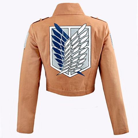 Attack on Titan Cosplay Jacket and Cape
