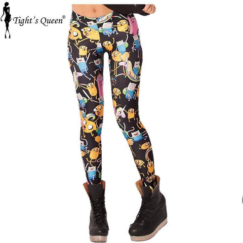 All-Over Printed Leggings
