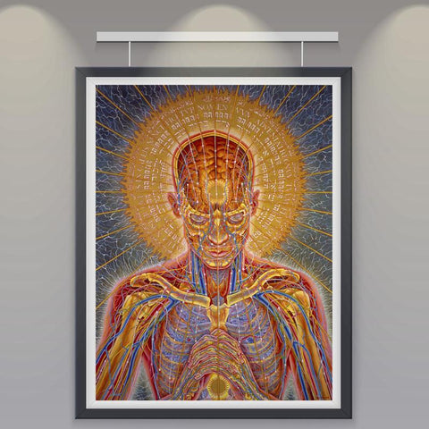 Psychedelic Print Wall Art 2