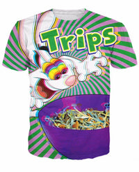 Trix Rabbit On Acid Graphic Tee