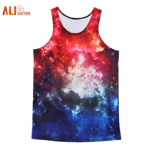 Space Clouds Tank Top