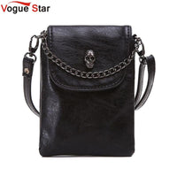 Purse with Skull Accent