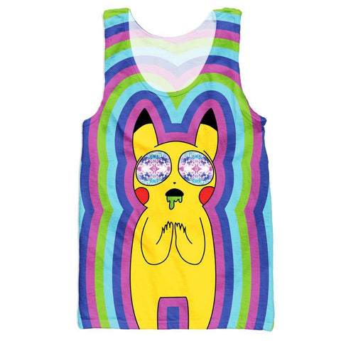 Pikachu on Acid Tank Top