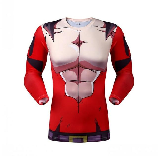 Dragon Ball Z Armor Skin Dry-Fit Long Sleeve