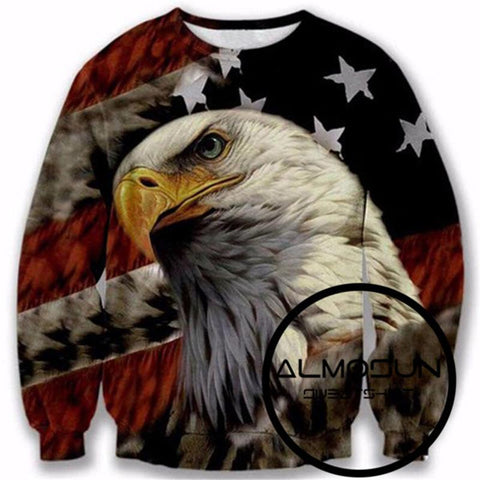 American Eagle All Over Print Sweatshirt