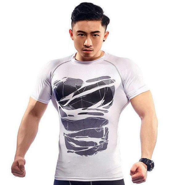 Ripped Hero Armor Skin Dry-Fit Shirts