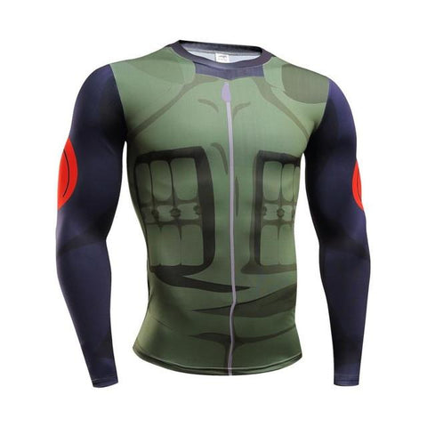 Naruto Armor Skin Dry-Fit Long Sleeve