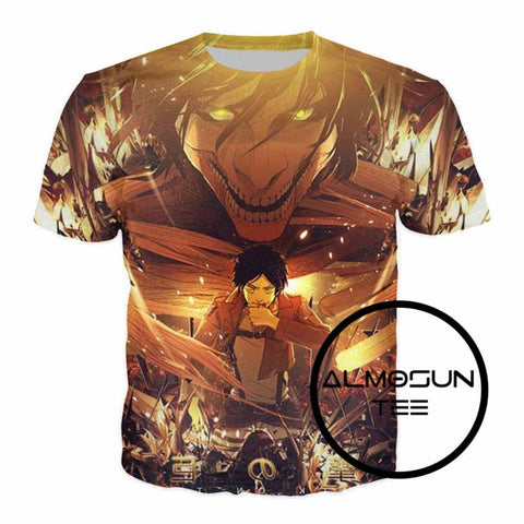 Attack on Titan Graphic Tee 4