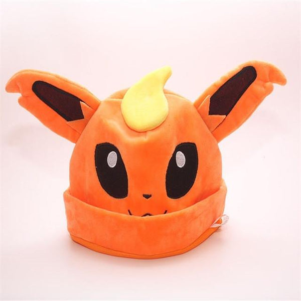 New Soft Eevee Plush Hats
