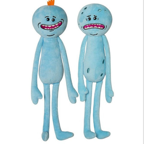Mr. Meeseeks Plush Toy Doll