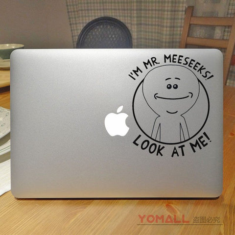 Mr. Meeseeks MacBook Decal