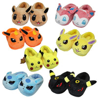 Poke Plush Slippers