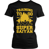 Training to go SSJ LIMITED EDITION
